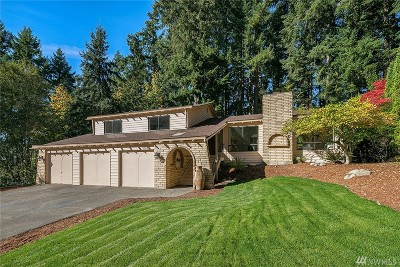 Bothell Single Family Home For Sale: 20912 28th Ave SE