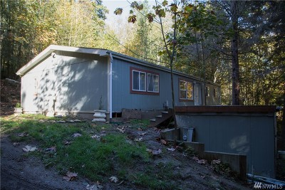 Single Family Home For Sale: 185 W Lake Samish