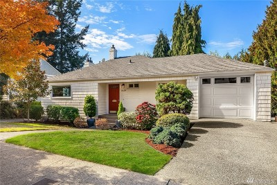 Seattle Single Family Home For Sale: 3619 39th Ave W
