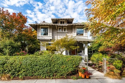 Seattle Single Family Home For Sale: 507 33rd Ave
