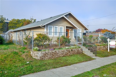 Tacoma Single Family Home For Sale: 1210 S L St