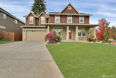 Bonney Lake Single Family Home For Sale: 18408 100th St Ct E