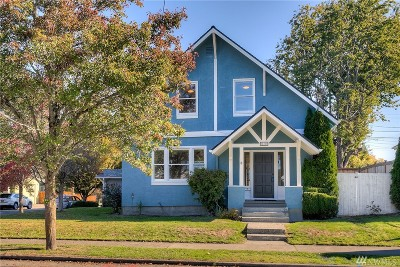 Tacoma Single Family Home For Sale: 831 N Anderson St