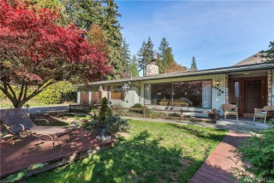 Kenmore Single Family Home For Sale: 14722 84th Ave NE