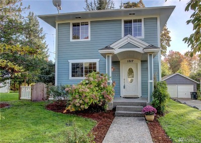 Olympia Single Family Home For Sale: 1317 5th Ave SE