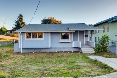 Seattle Single Family Home For Sale: 815 SW Cloverdale St