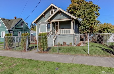 Tacoma Single Family Home For Sale: 1511 S 40th St