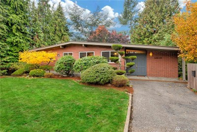 Mercer Island Single Family Home For Sale: 2451 62nd Ave SE