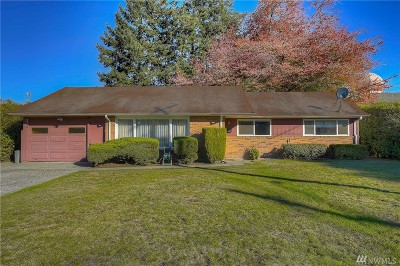 Pierce County Single Family Home For Sale: 1515 S State St