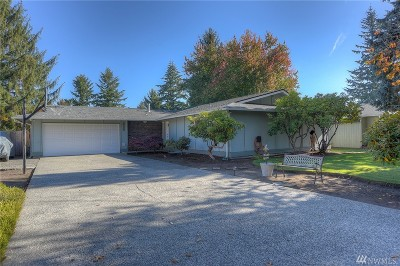 Olympia Single Family Home For Sale: 6112 Armour Dr SE