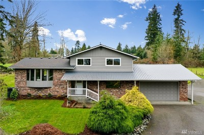 Marysville Single Family Home For Sale: 3724 Densmore Rd
