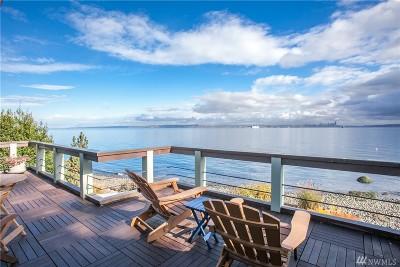 Bainbridge Island Single Family Home For Sale: 4008 Rockaway Beach Rd NE