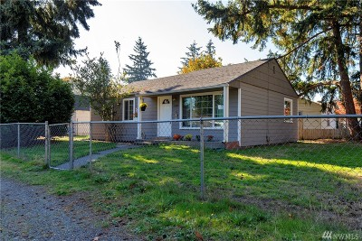 Tacoma Single Family Home For Sale: 11606 8th Av Ct S