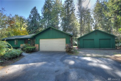 Olympia Single Family Home For Sale: 7544 Steamboat Island Rd NW