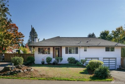 Burien Single Family Home For Sale: 1607 SW 146th St