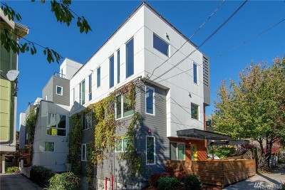 Seattle Single Family Home For Sale: 1623 14th Ave #E