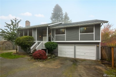 Seattle Single Family Home For Sale: 12037 9th Ave NW