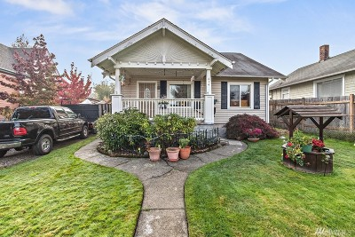 Tacoma Single Family Home For Sale: 614 E 35th St