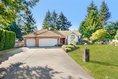Puyallup Single Family Home For Sale: 8916 167th Street Court East