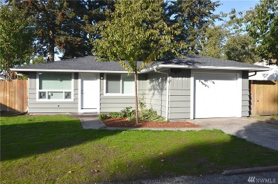 Tacoma Single Family Home For Sale: 1631 S 96th St