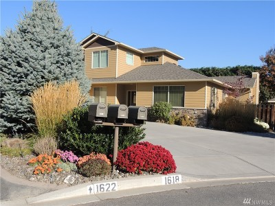 Wenatchee Single Family Home For Sale: 1618 Quail Hollow Lane