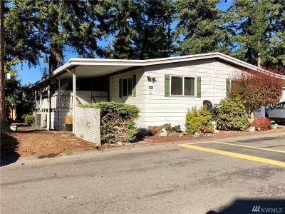 Puyallup Mobile Home For Sale: 11219 124th St Ct E #56