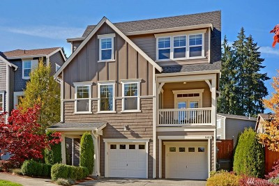 Redmond Single Family Home For Sale: 11411 178th Place NE