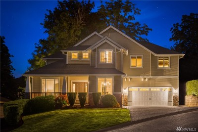 Bellevue WA Single Family Home For Sale: $1,095,000