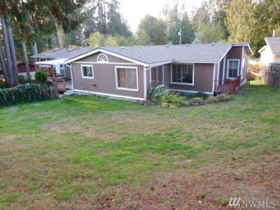 Olympia Single Family Home For Sale: 9809 Windward Dr NW