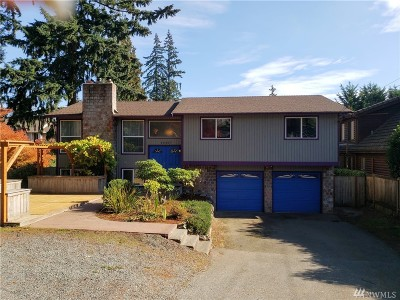 Bothell WA Single Family Home For Sale: $525,000