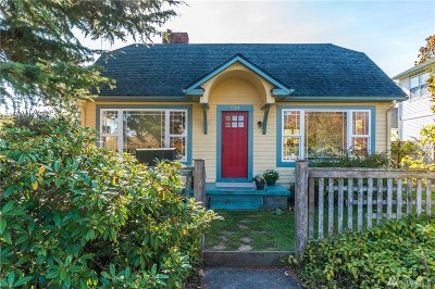 Anacortes Single Family Home Sold: 1501 9th St