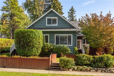 Bothell WA Single Family Home For Sale: $649,950