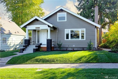 Tacoma Single Family Home For Sale: 3206 S 8th St