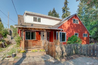 Shoreline Single Family Home For Sale: 1036 NE 190th St