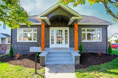 Tacoma Single Family Home For Sale: 5202 S K St