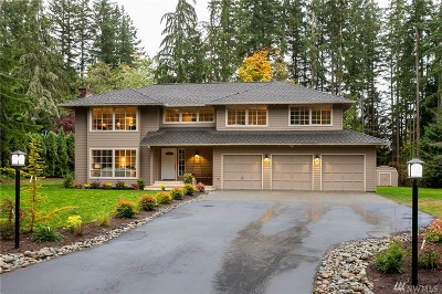 Woodinville Single Family Home For Sale: 18619 NE 191st St
