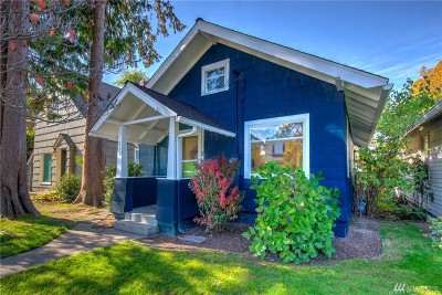 Tacoma Single Family Home For Sale: 818 N Anderson St