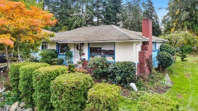 Shoreline Single Family Home For Sale: 1005 NE 180th St