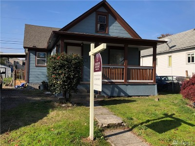 Tacoma Single Family Home For Sale: 3828 E Spokane St