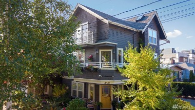 Seattle Single Family Home For Sale: 4141 Chilberg Ave SW