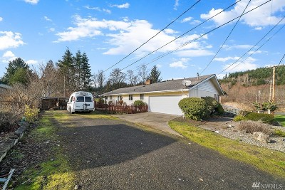 Montesano Single Family Home For Sale: 719 N Satsop St
