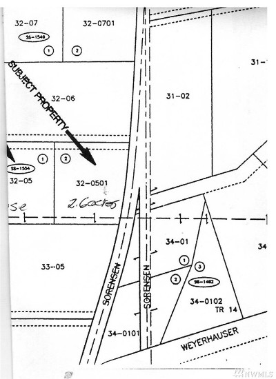 Yelm Residential Lots & Land For Sale: 18943 Sorenson Rd SE