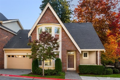 Bellevue Condo/Townhouse For Sale: 1340 Bellevue Wy SE