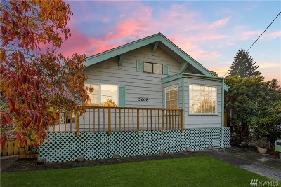 Tacoma Single Family Home For Sale: 5608 N 45th St