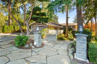 Bellevue Single Family Home For Sale: 12113 SE 23rd Street