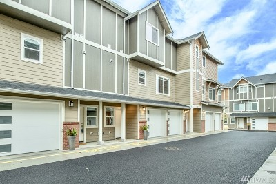 Edmonds Single Family Home For Sale: 7232 212th St SW #C