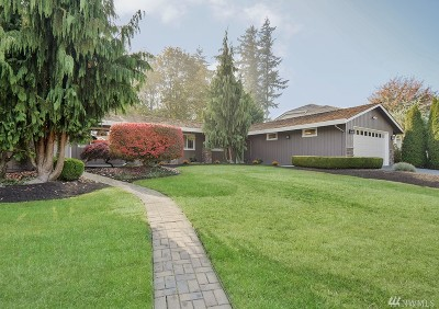 Kent Single Family Home Contingent: 13825 SE 253rd St