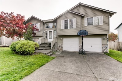 Spanaway Single Family Home For Sale: 8010 202nd St Ct E