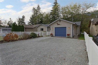 Sedro Woolley Single Family Home Sold: 667 Cain Lake Rd
