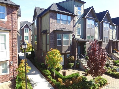 Issaquah Single Family Home For Sale: 1314 Brooklyn Walk NE